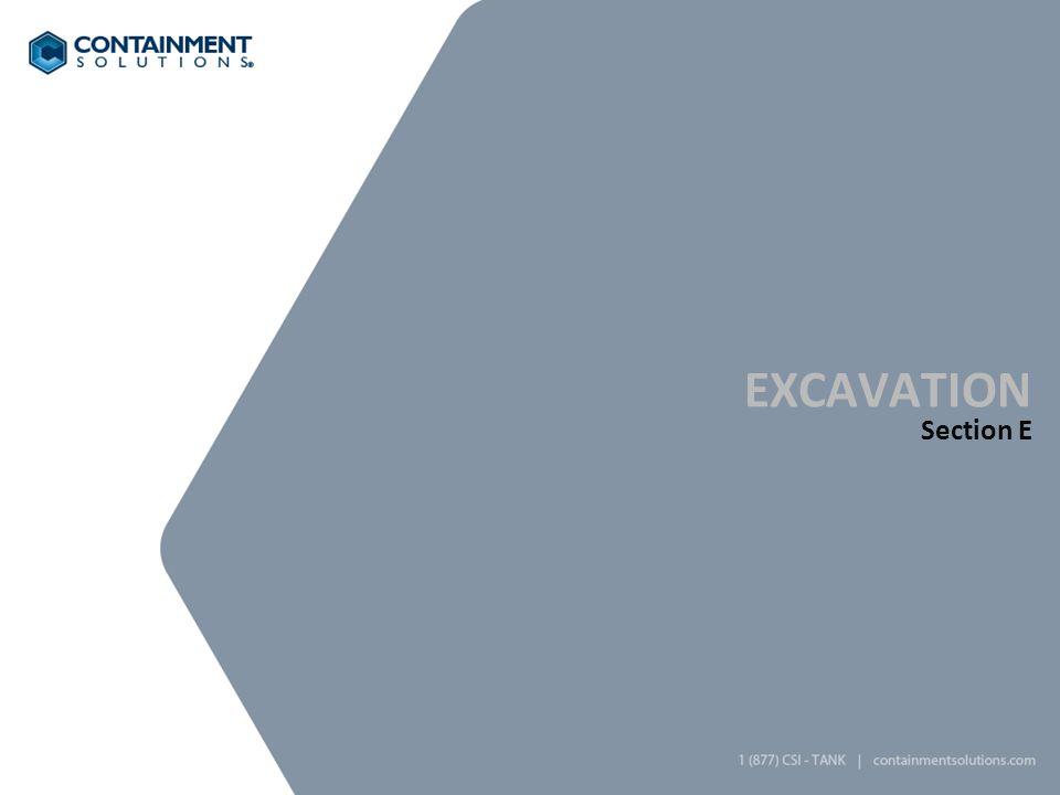 excavation Section E