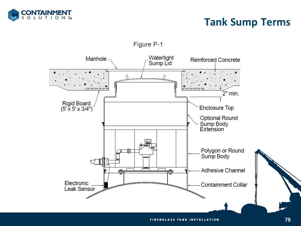 Tank Sump Terms