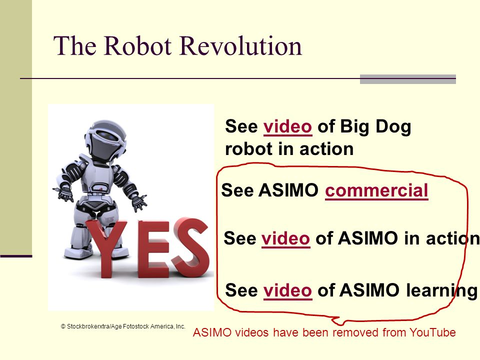 The Robot Revolution See video of Big Dog robot in action