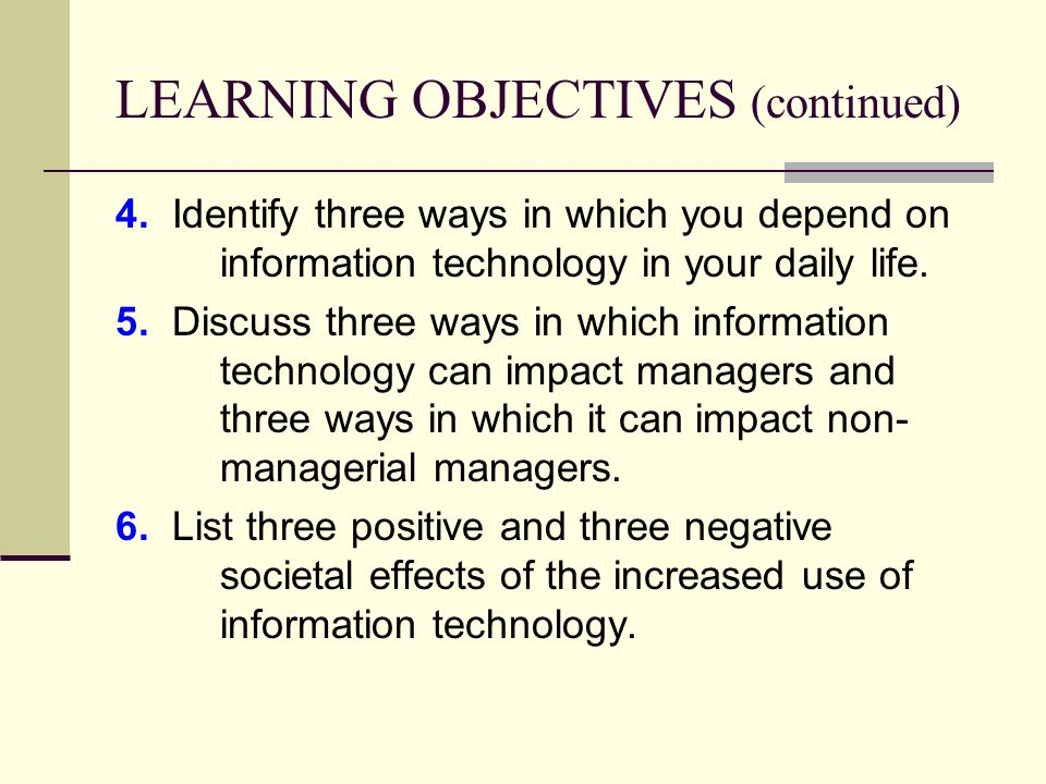 Three Negative Impacts Of Information Systems Information Technology  Three Negative Impacts Of Information Systems Information Technology Essay