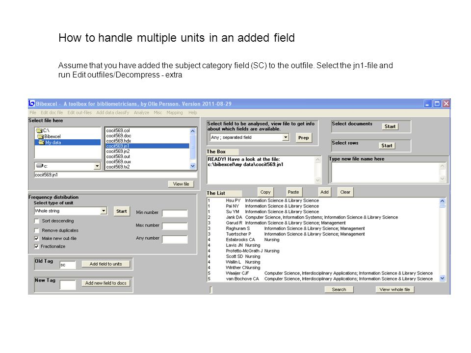 How to handle multiple units in an added field