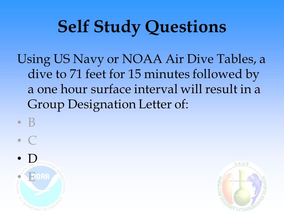 Self Study Questions
