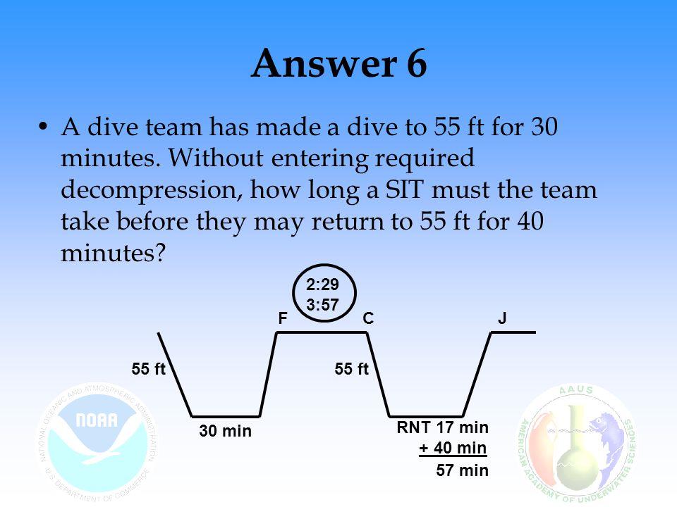 Answer 6