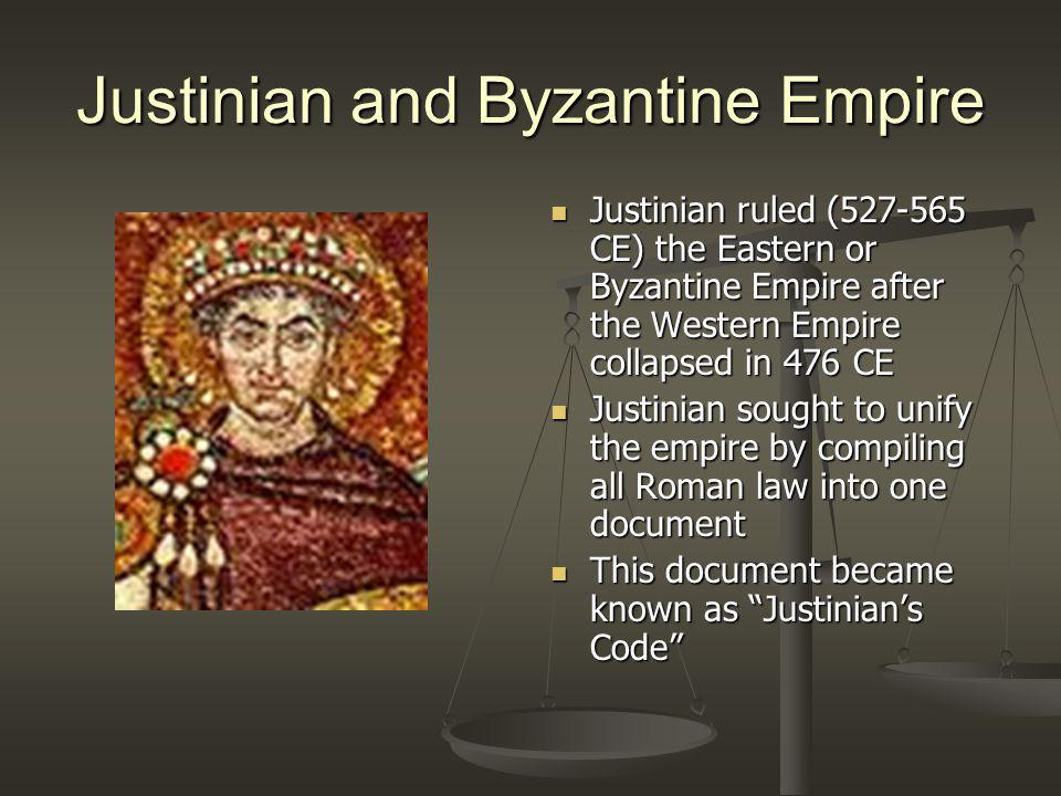 Justinian and Byzantine Empire