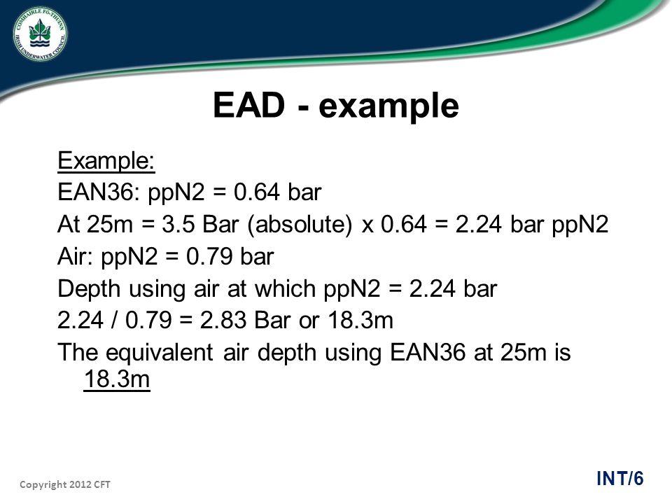 EAD - example
