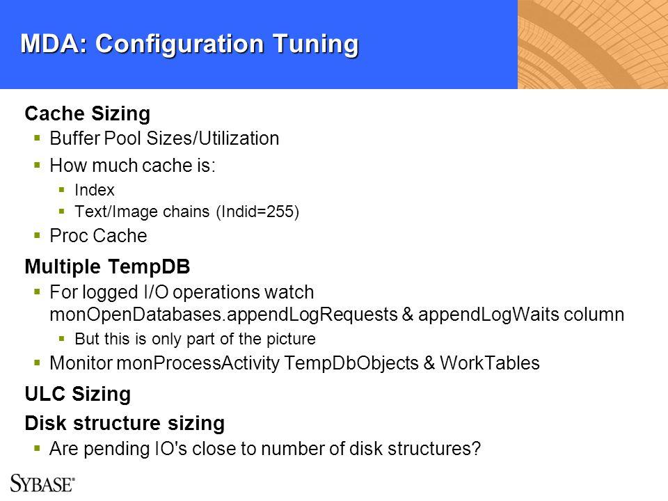 MDA: Configuration Tuning