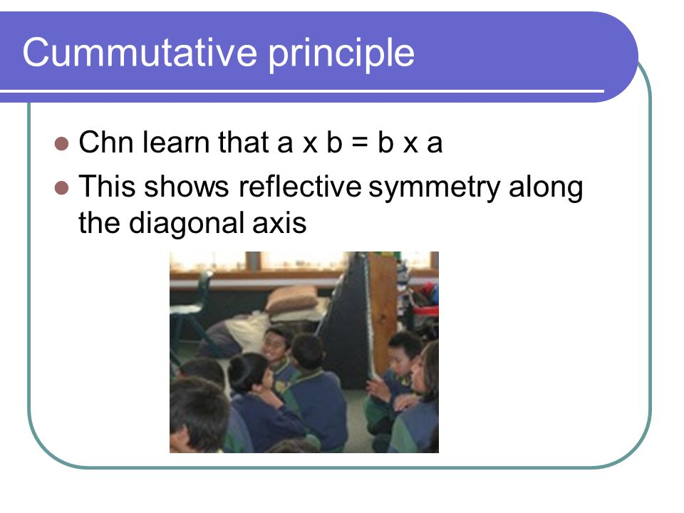 Cummutative principle