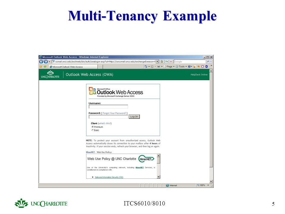 Multi-Tenancy Example