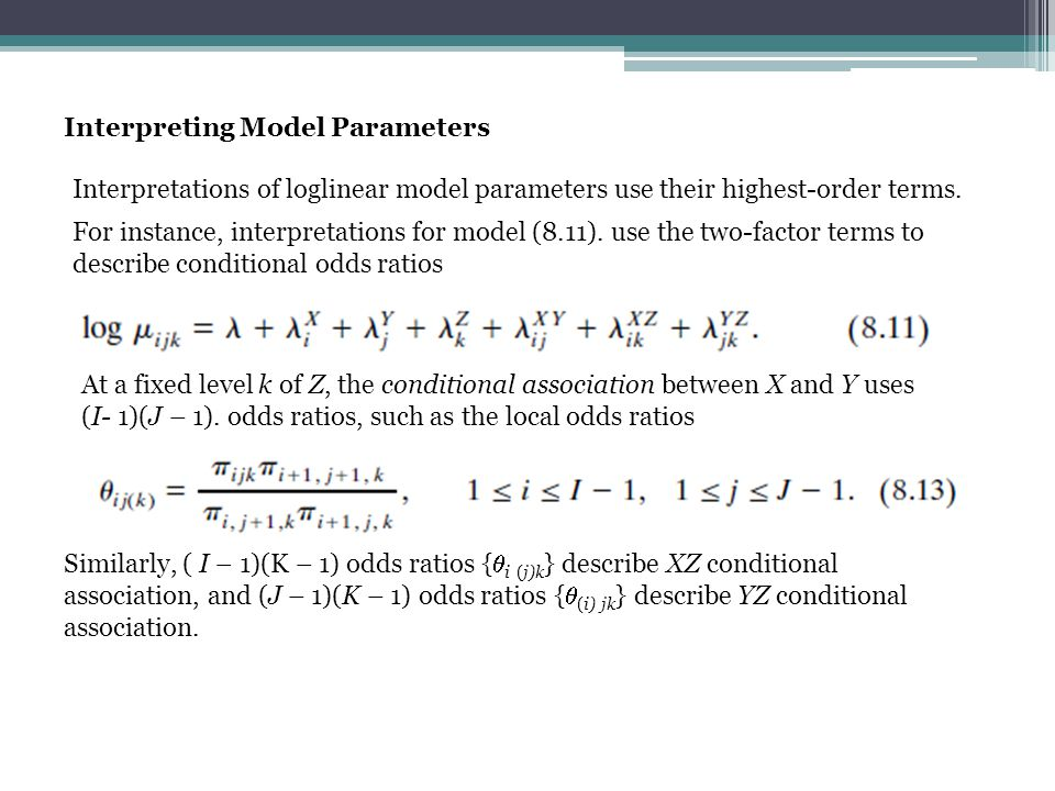 Interpreting Model Parameters