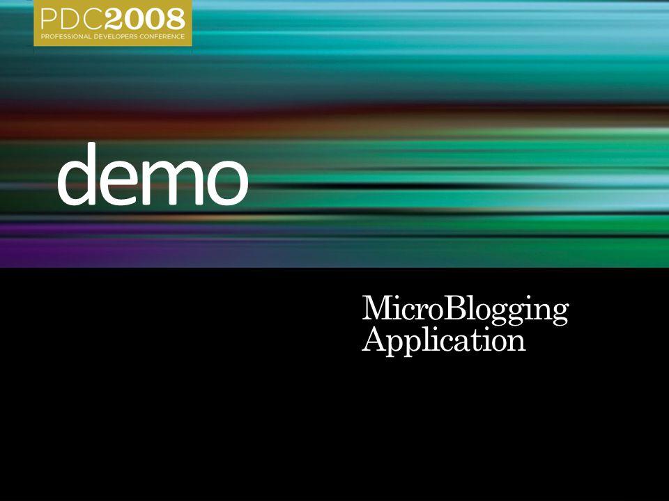MicroBlogging Application