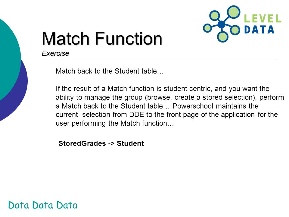 Match Function Exercise