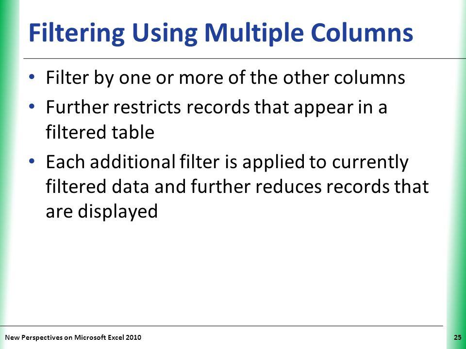 Filtering Using Multiple Columns