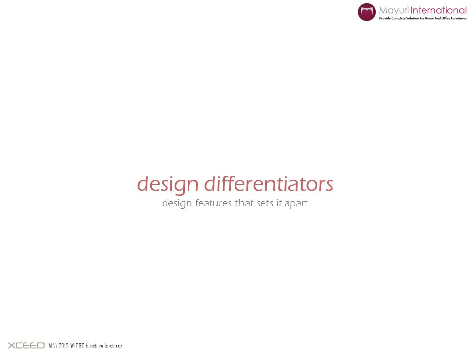 design differentiators
