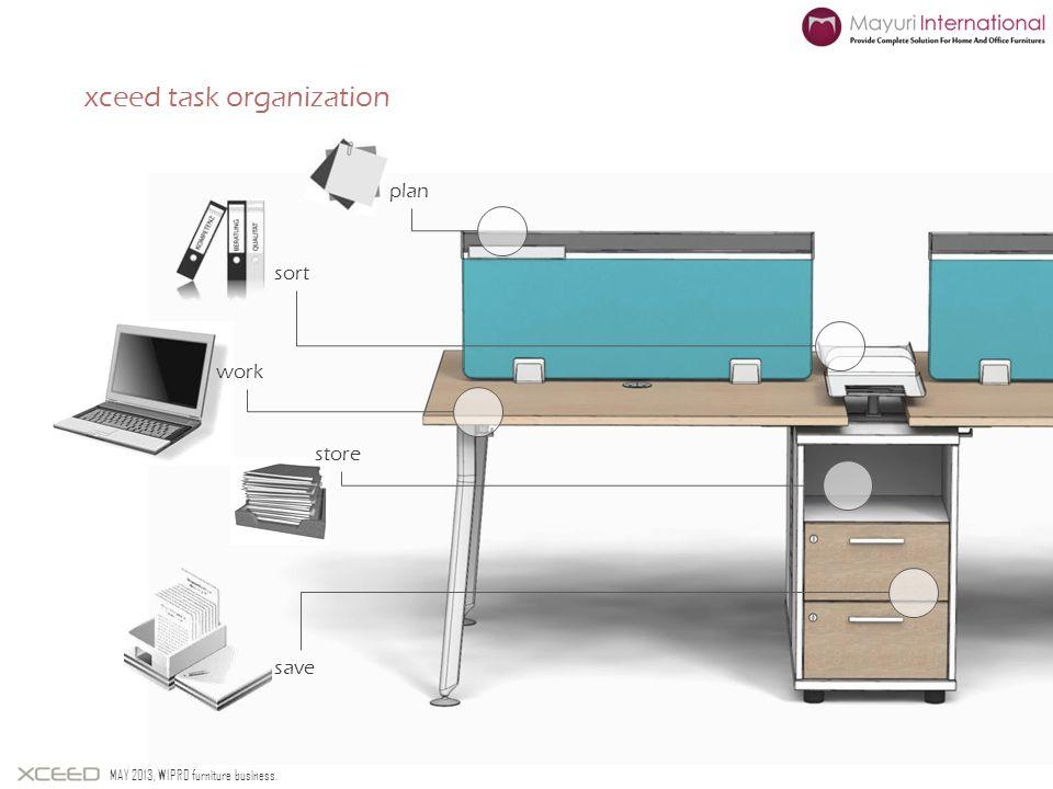 xceed task organization