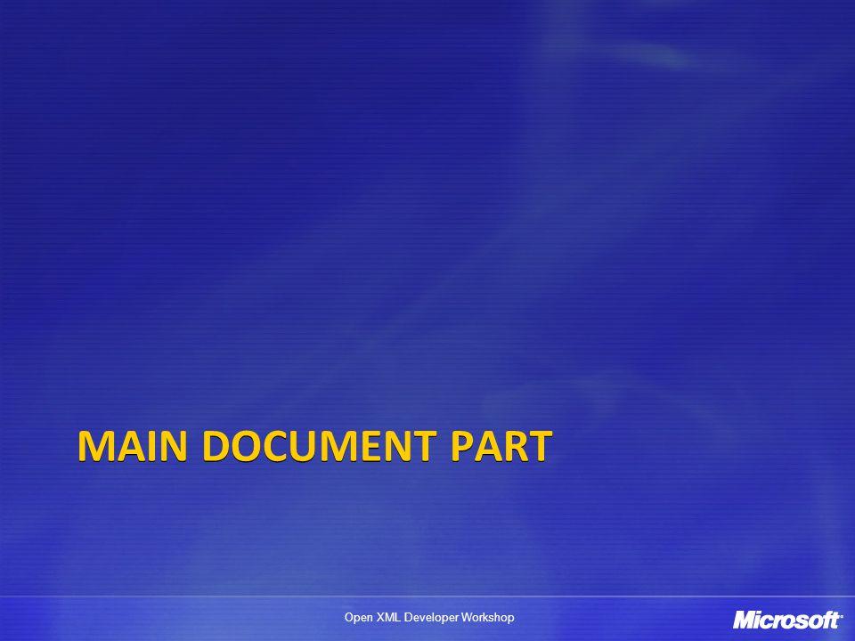Main Document Part