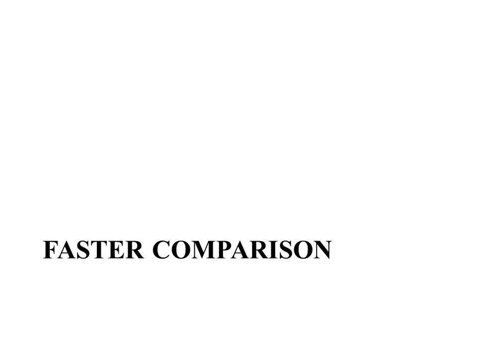 FastER Comparison