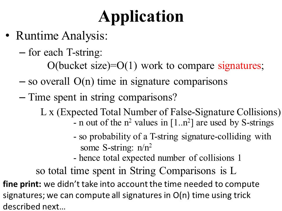 Application Runtime Analysis: