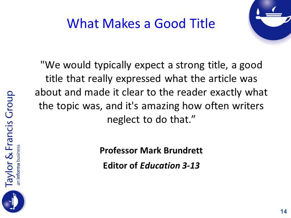 Professor Mark Brundrett