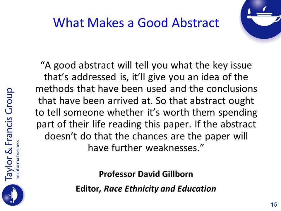 Professor David Gillborn