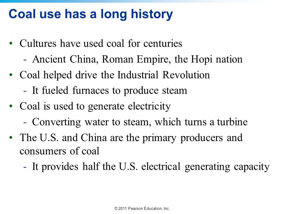 Coal use has a long history