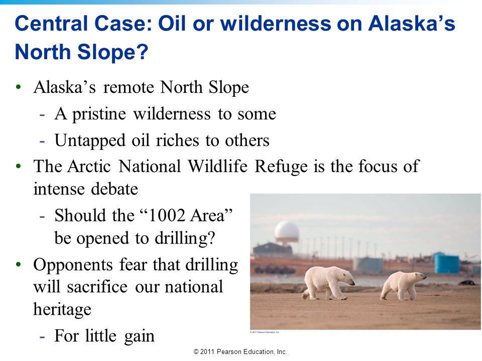 Central Case: Oil or wilderness on Alaska's North Slope
