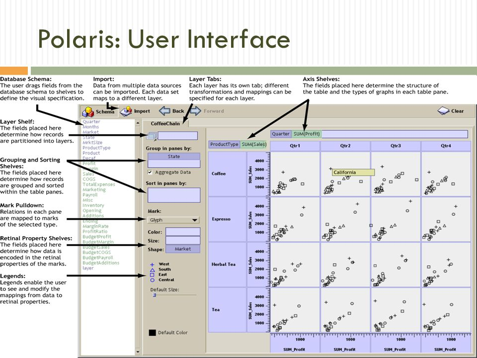 Polaris: User Interface