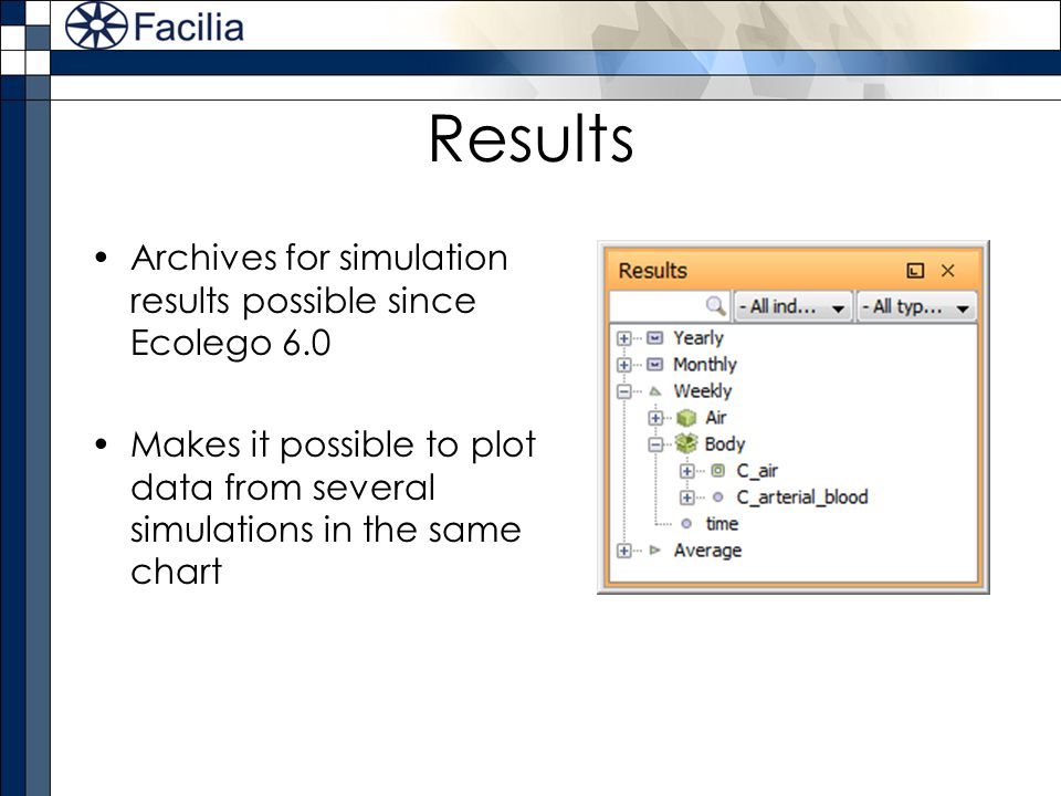 Results Archives for simulation results possible since Ecolego 6.0