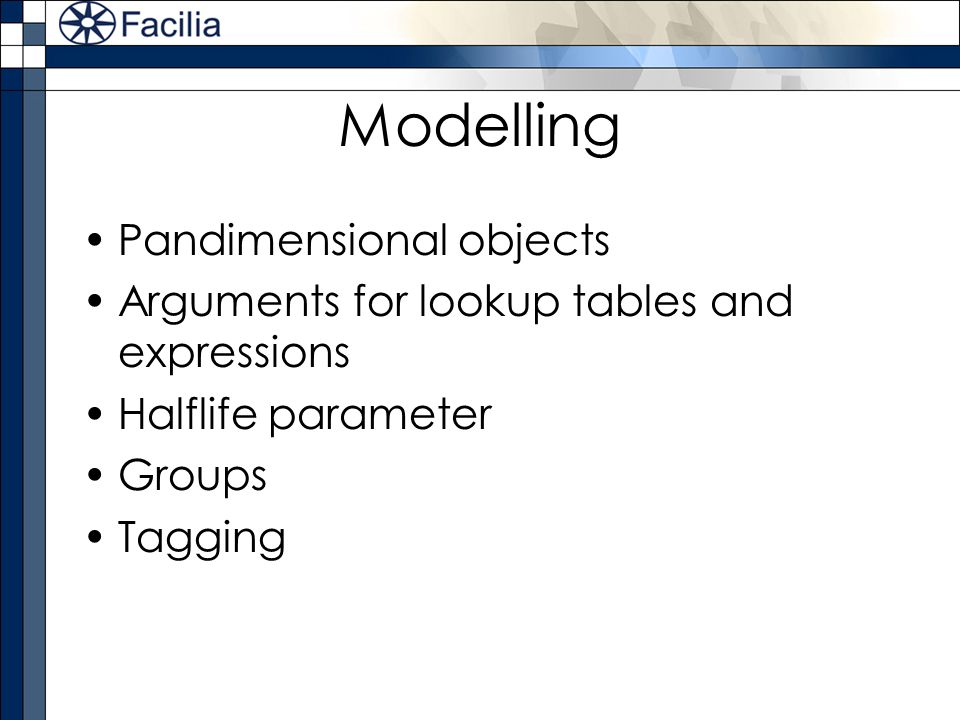 Modelling Pandimensional objects