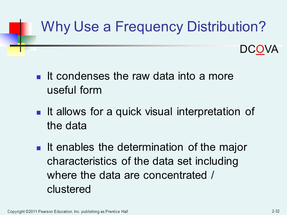 Why Use a Frequency Distribution