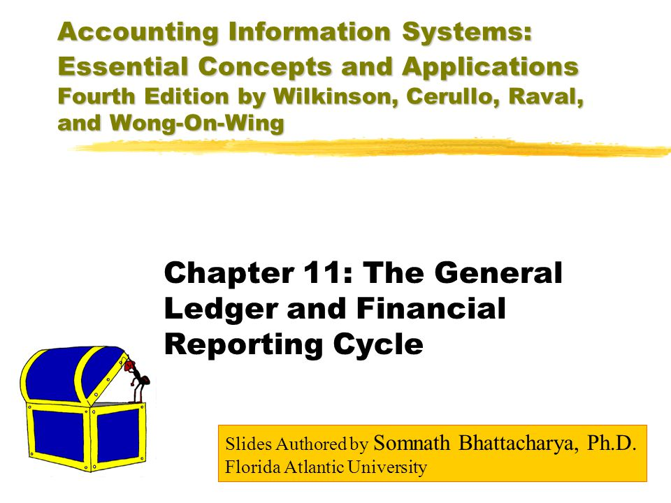 Chapter 11: The General Ledger and Financial Reporting Cycle