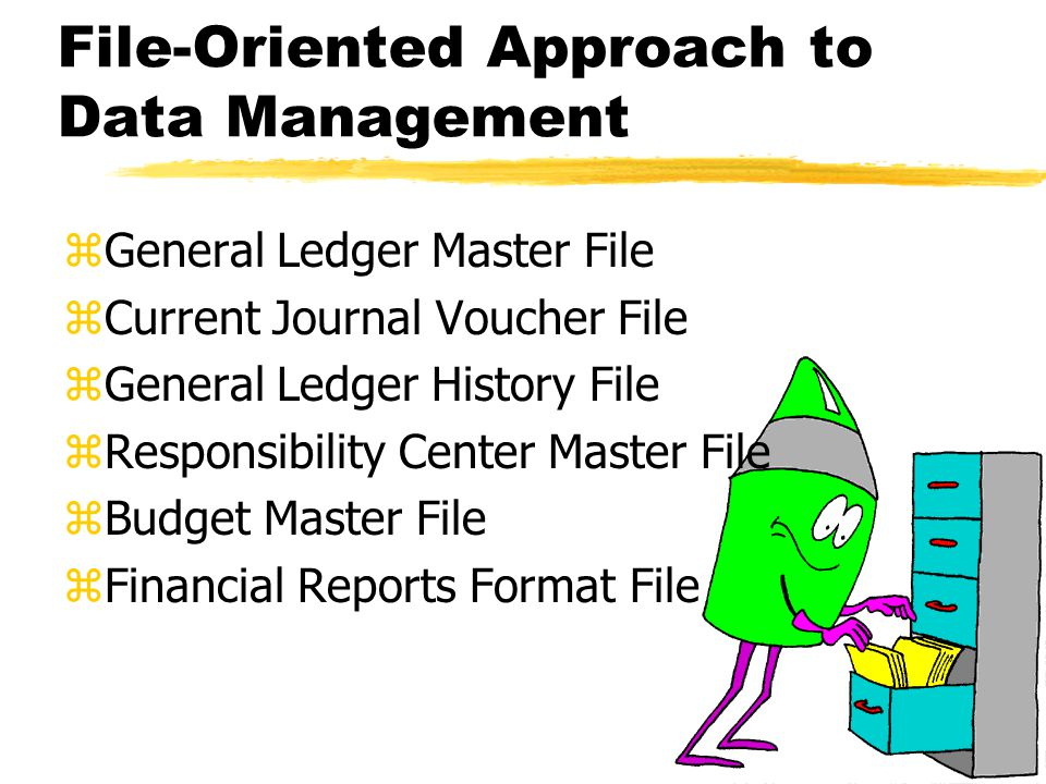 File-Oriented Approach to Data Management