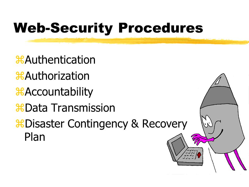 Web-Security Procedures