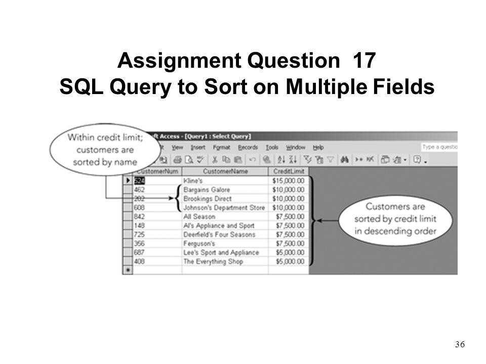 SQL Query to Sort on Multiple Fields