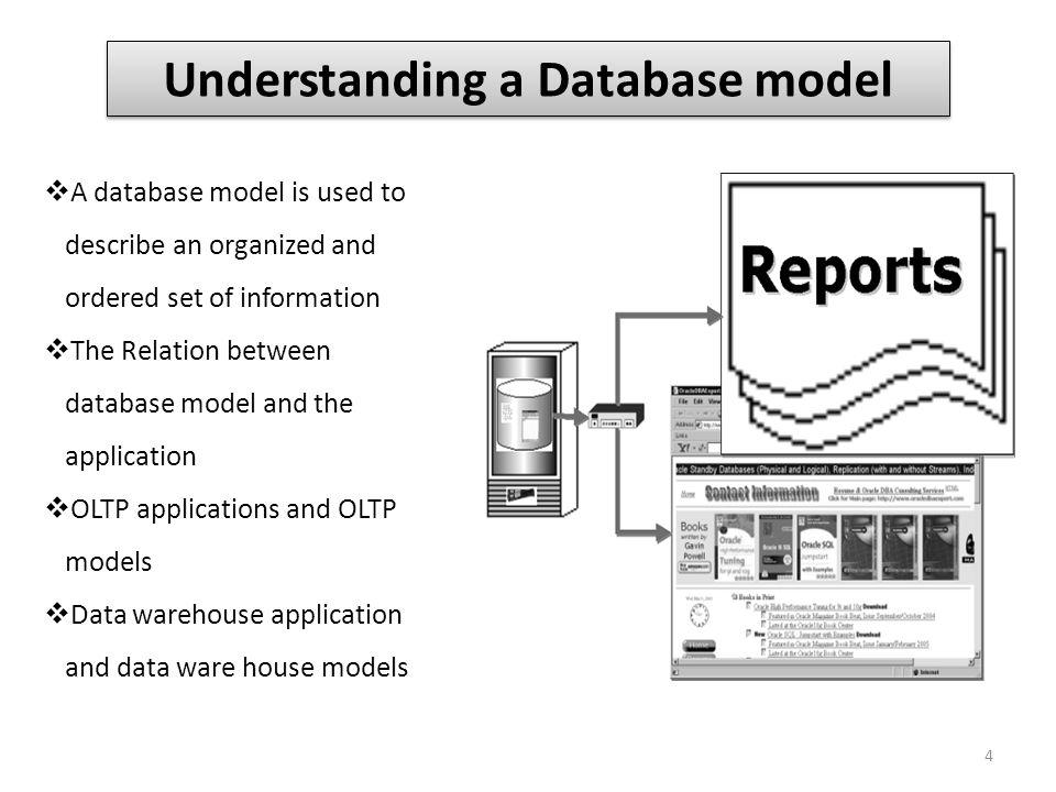 Understanding a Database model