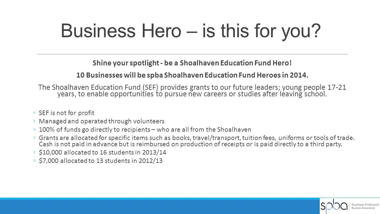 Business Hero – is this for you