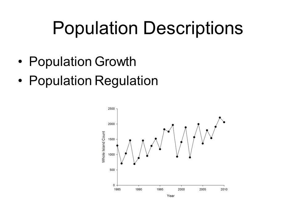 Population Descriptions