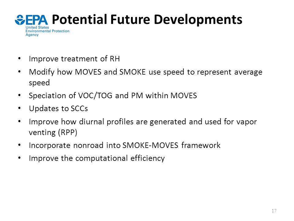Potential Future Developments