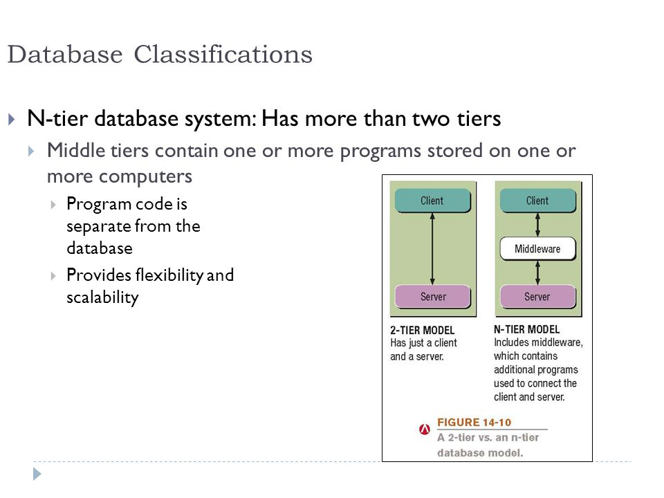 Database Classifications