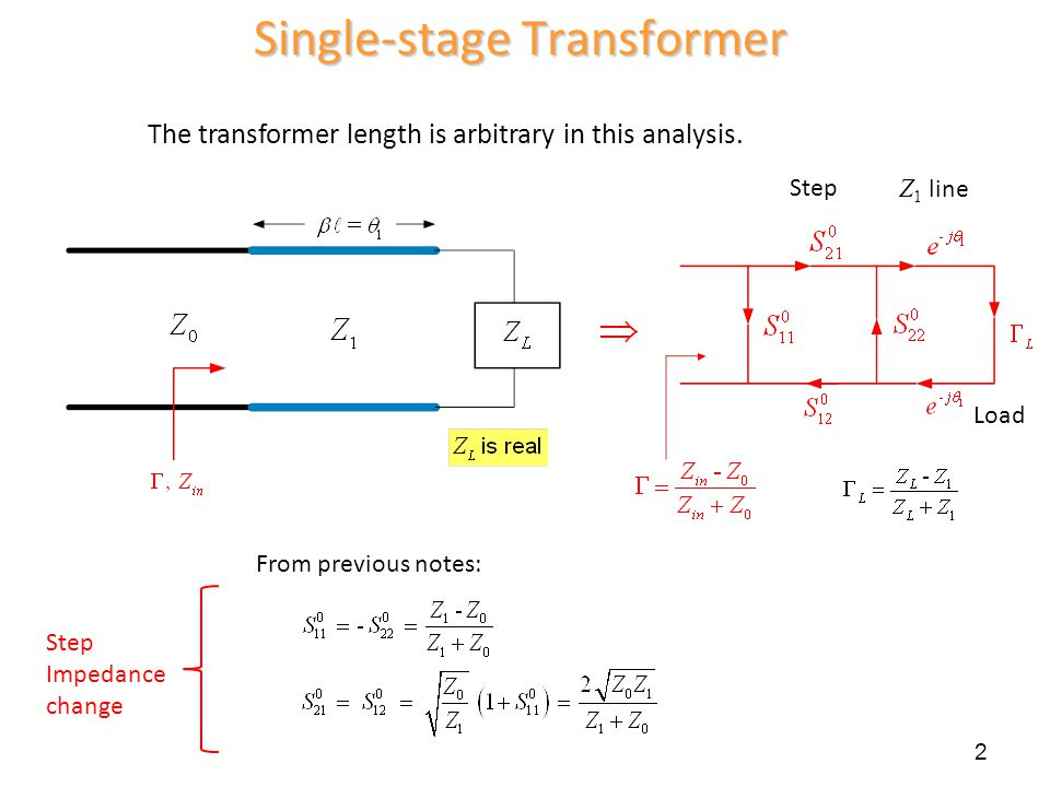 Single-stage Transformer