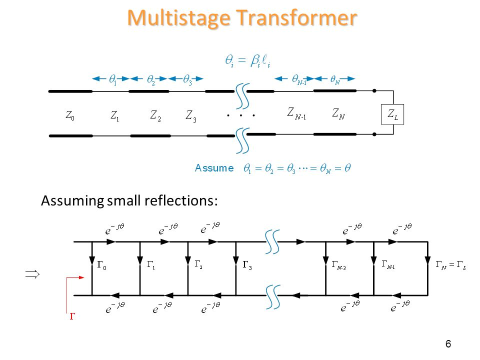 Multistage Transformer