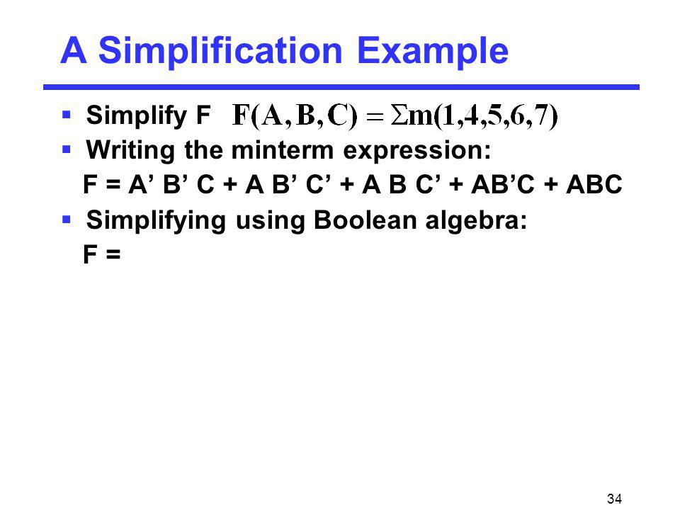 A Simplification Example