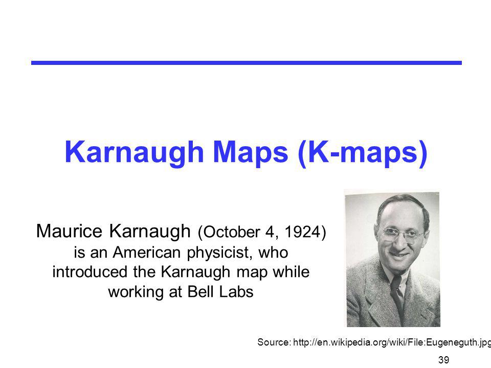 Karnaugh Maps (K-maps)