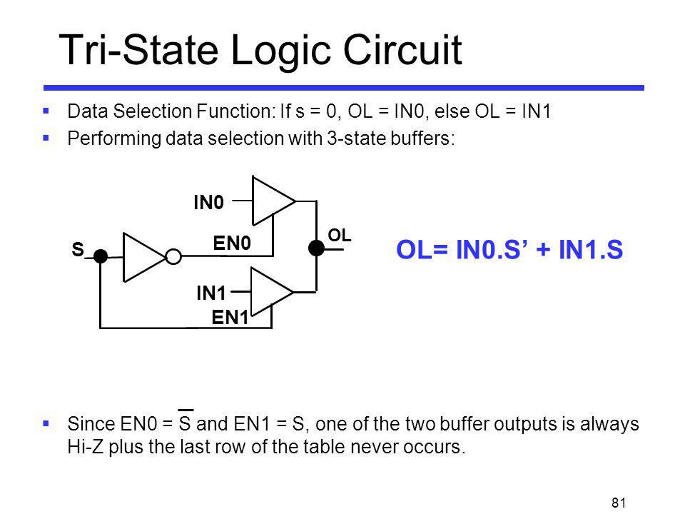 Tri-State Logic Circuit