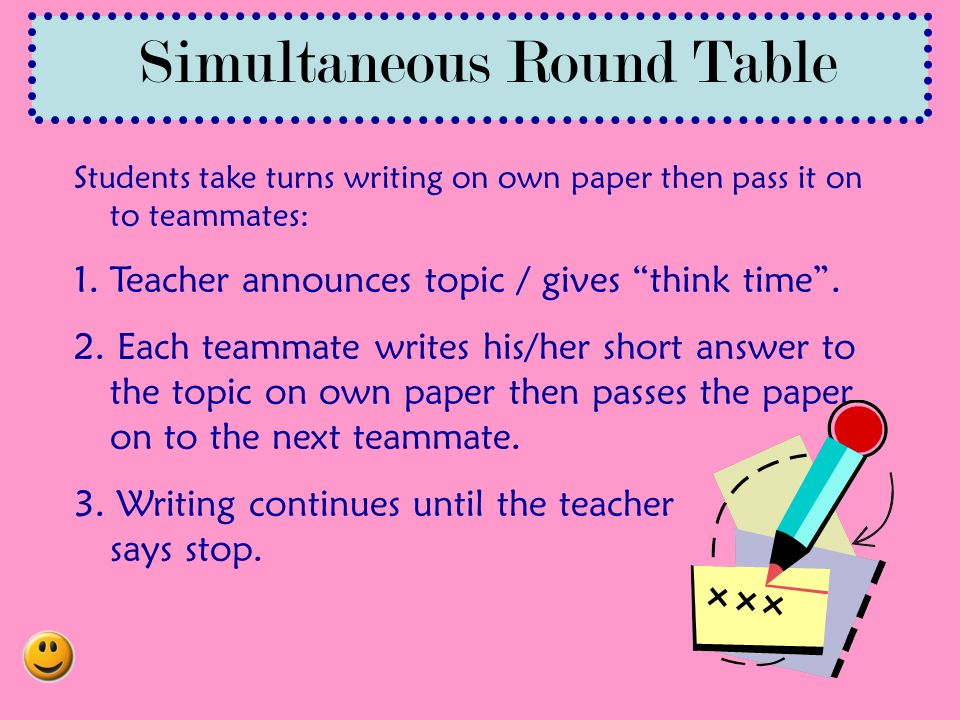 Simultaneous Round Table