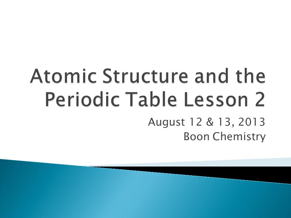 Atomic structure and the periodic table lesson 2 ppt video online atomic structure and the periodic table lesson 2 urtaz Gallery