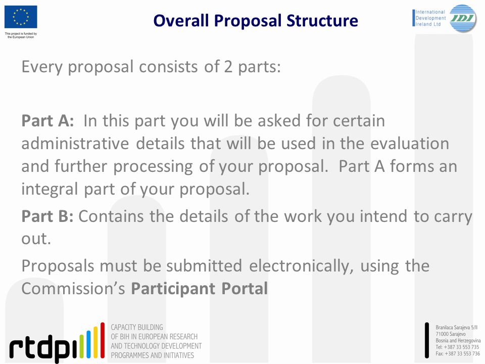 Overall Proposal Structure