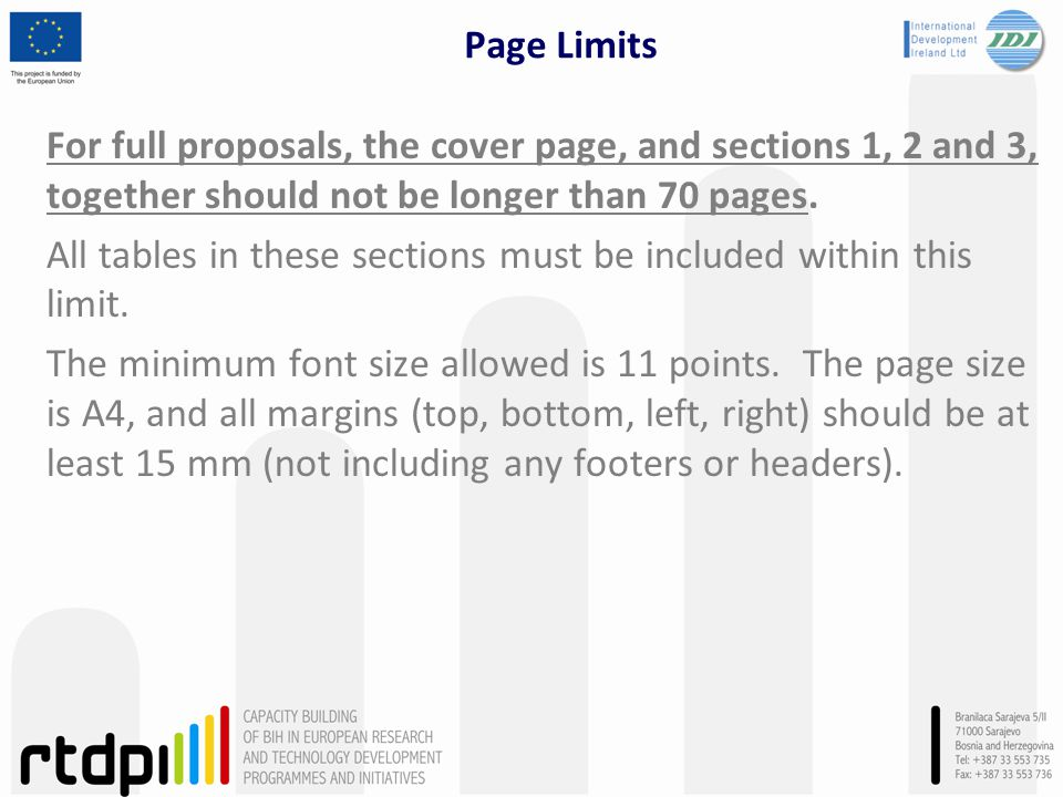 Page Limits