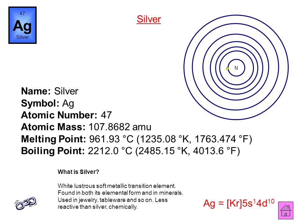 47 Ag. Silver. Silver. N.