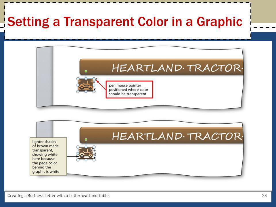 Setting a Transparent Color in a Graphic