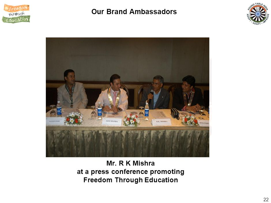 inaugurating a Round Table School